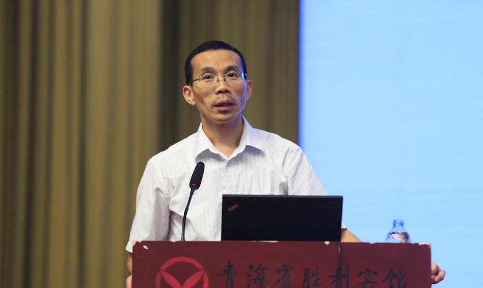 社会科学文献出版社副总编辑、皮书研究院院长蔡继辉发布2016年版皮书评价结果