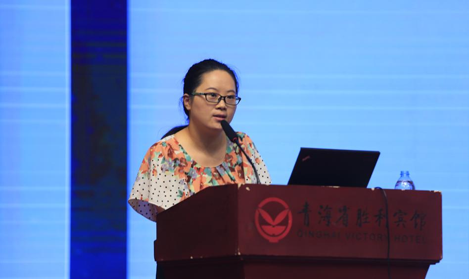 社会科学文献出版社皮书研究院执行院长吴丹发布皮书数据库数字资源及影响力分析报告