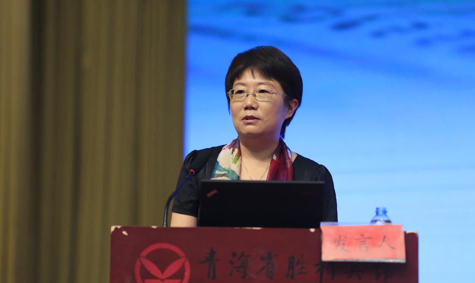 上海社会科学院经济研究所所长沈开艳作主题演讲