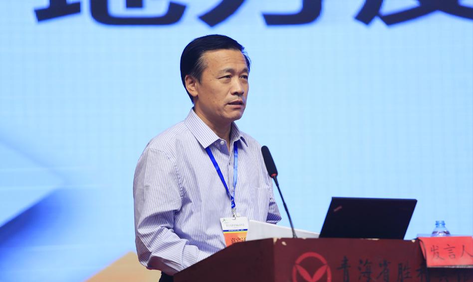 广州大学党委副书记张强作主题演讲