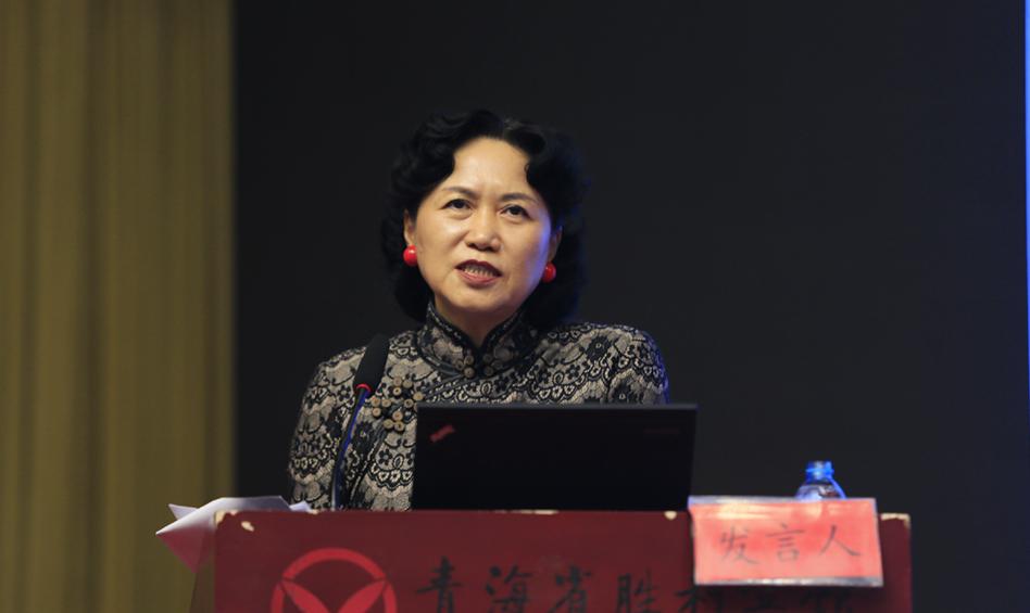 深圳大学党委副书记陶一桃作主题演讲