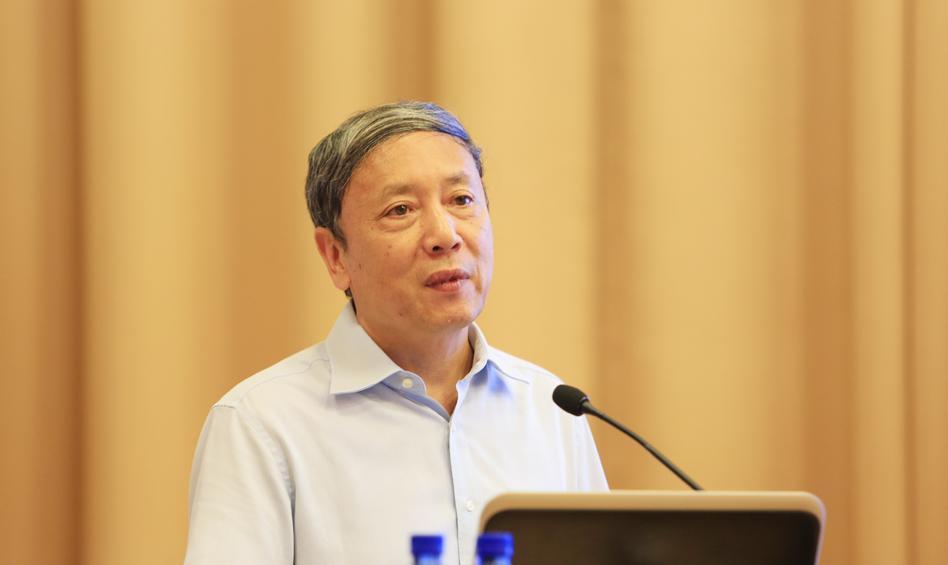 中国社会科学院副院长蔡昉作学术报告