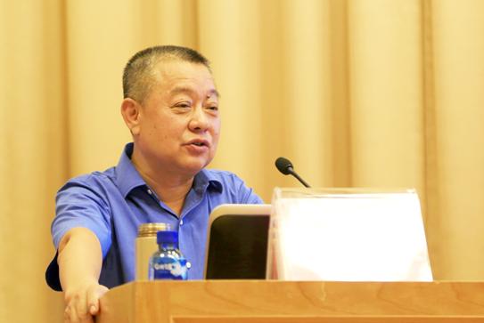 社会科学文献出版社社长谢寿光作总结发言