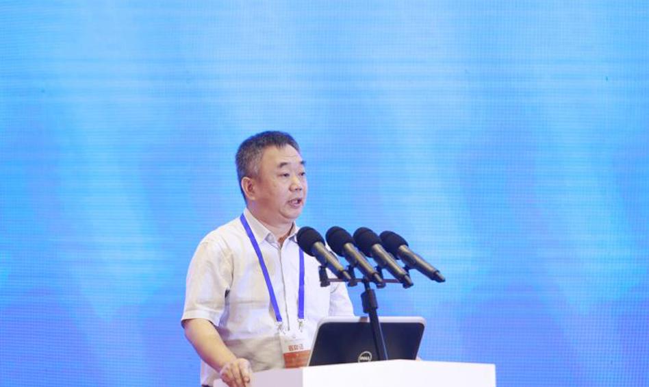 中国社会科学院美国研究所党委书记、副所长倪峰作主题演讲