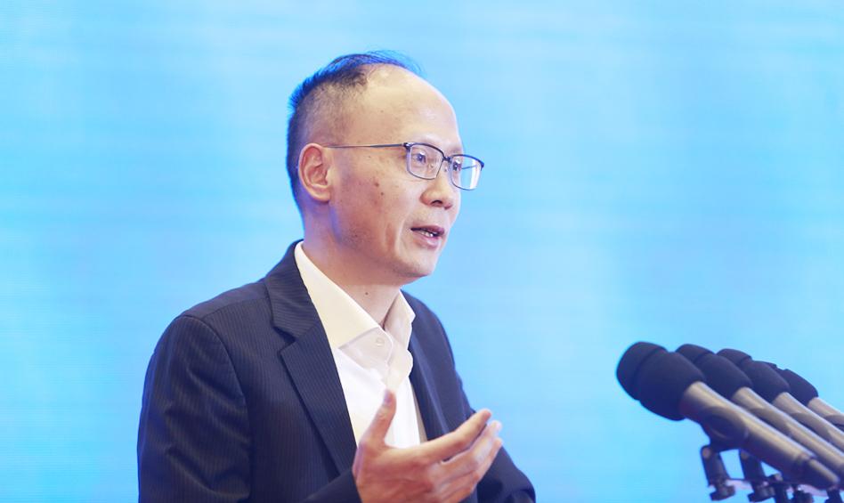 同济大学德国研究中心主任郑春荣作主题演讲