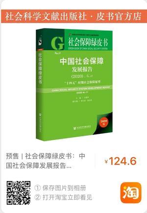 社会保障绿皮书
