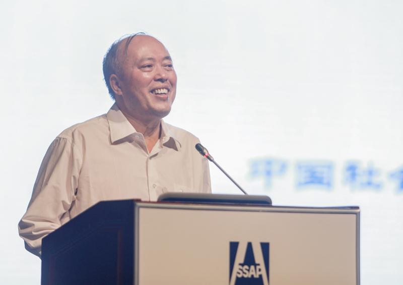 中国社会科学院社会学研究所所长陈光金作学术演讲