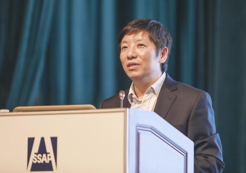 中国社会科学院工业经济研究所党委书记、副所长李雪松作学术演讲