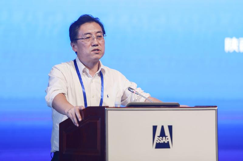 陕西省社会科学院党组书记、院长司晓宏作主题演讲