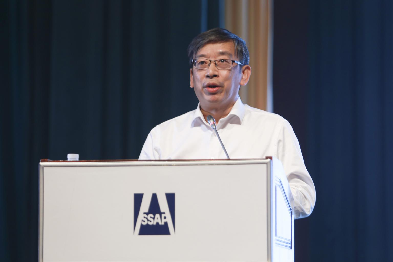 广州市社会科学院副院长许鹏作主题演讲
