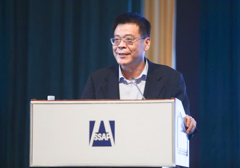 武汉大学法学院院长冯果作主题演讲