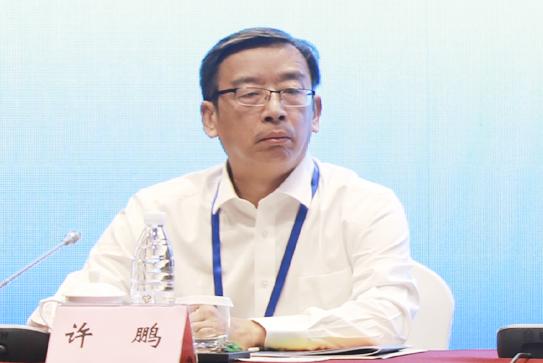第二十二次全国皮书年会(2021)承办方广州市社会科学院副院长许鹏发言