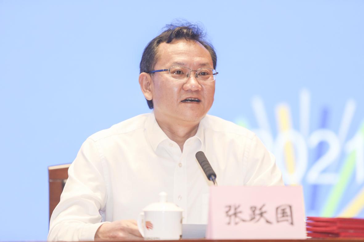 广州市社会科学院党组书记、院长张跃国在第二十二次全国皮书年会(2021)上致欢迎辞