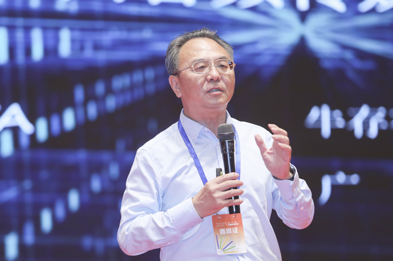 中科网联数据科技有限公司副总裁牛存有作主题报告