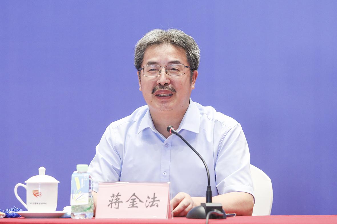 第二十三次全国皮书年会(2022)承办方江西省社会科学院院长蒋金法发言