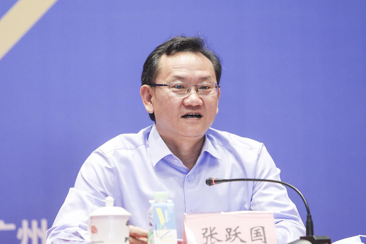 广州市社会科学院党组书记、院长张跃国做总结发言